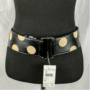 Nordstrom Rack Polka Dot Stretch Waist Belt